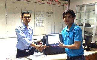 Bàn giao thiết bị chẩn đoán Autel Maxisys Pro MS908P Garage Hiệp Lợi