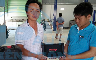 AUTEL.VN bàn giao thiết bị chẩn đoán MaxiSys Pro MS908P tới Garage Thành Kiều