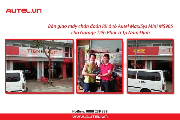 ban-giao-may-doc-loi-o-to-autel-maxisys-mini-ms905-gara-tien-phuc-1