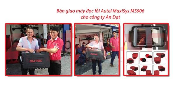 Bàn giao máy đọc lỗi ô tô MaxiSys MS906 cho công ty An Đạt