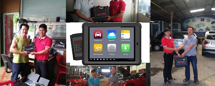 Mừng sản phẩm Autel Maxisys Mini thứ 200 được phân phối chính hãng tại Việt Nam