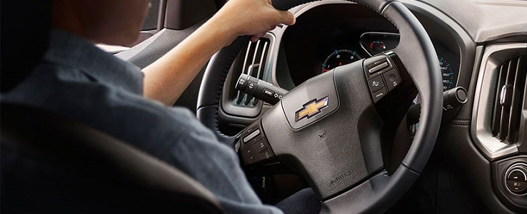 Sơ đồ điện hệ thống điều khiển hệ thống ABS và tay lái trợ lực điện Chevrolet Colorado 2015