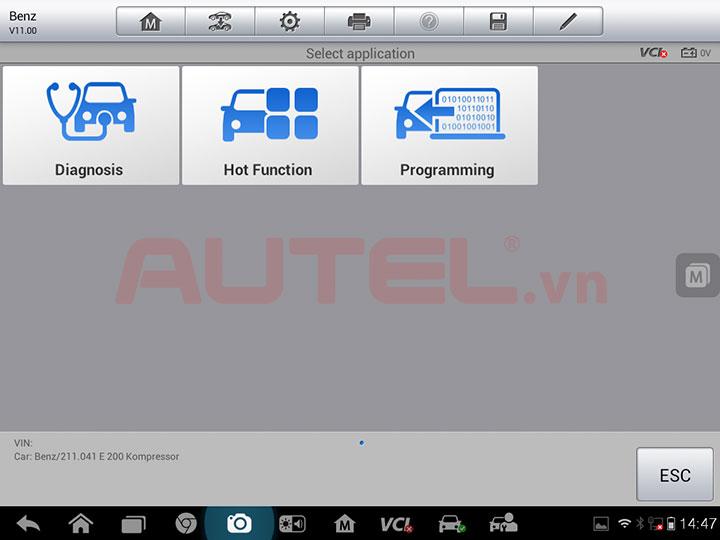 Autel MaxiSys Pro có tốc độ hoạt động cực nhanh