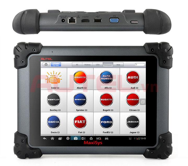 Thiết bị chính Autel MaxiSys Pro MS908P