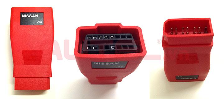 Đầu giắc kết nối Nissan -14