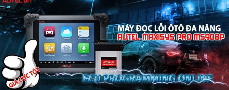 Autel MaxiSys Pro MS908P ECU Programming Online