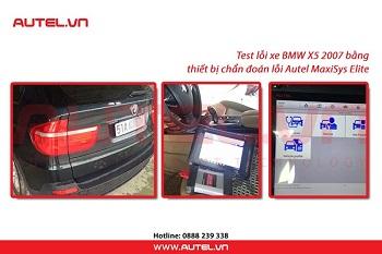 Programming xe BMW X5 2007 bằng thiết bị chẩn đoán Autel MaxiSys Elite