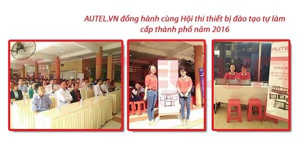 Autel.vn đồng hành cùng hội thi thiết bị đào tạo tự làm cấp thành phố năm 2016