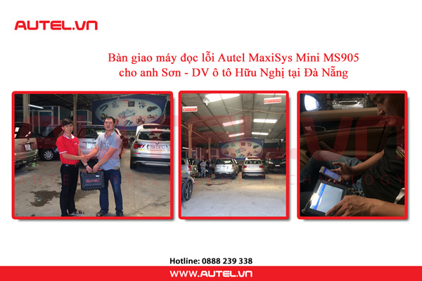 ban-giao-may-doc-loi-autel-maxisys-mini-ms905-cho-an-son