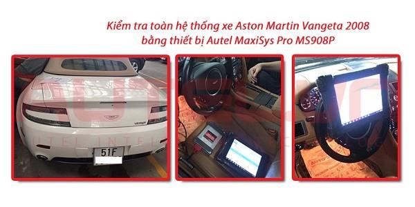 Kiểm tra toàn hệ thống xe Aston Martin Vangeta 2008
