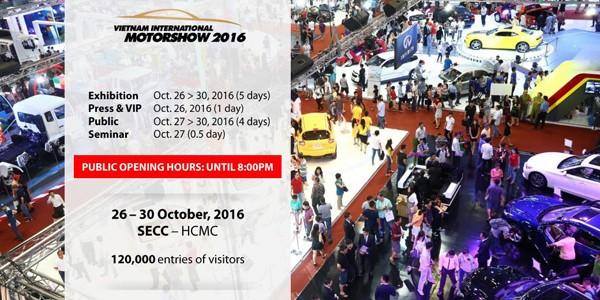 Cùng Autel.vn tham gia triển lãm quốc tế Việt Nam Motoshow 2016 tại SECC quận 7