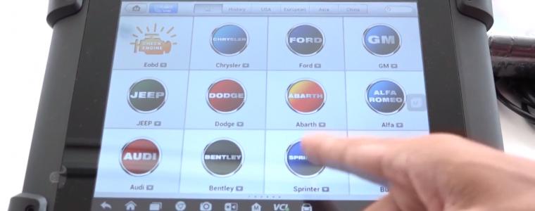 Video hướng dẫn chọn xe khi sử dụng Autel MaxiSys MS908