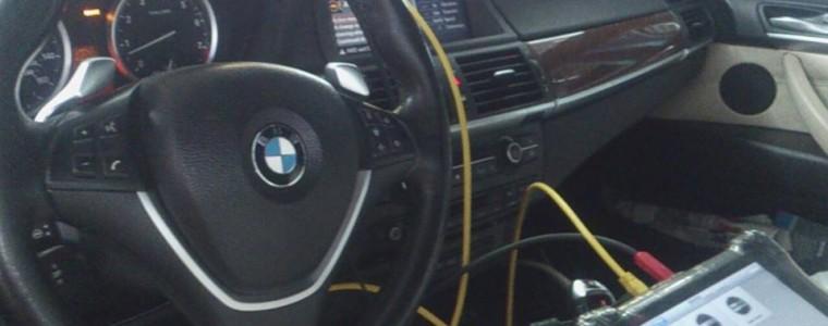 Video Autel MaxiSys Pro 908P coding DSC/ABS BMW X6 2008