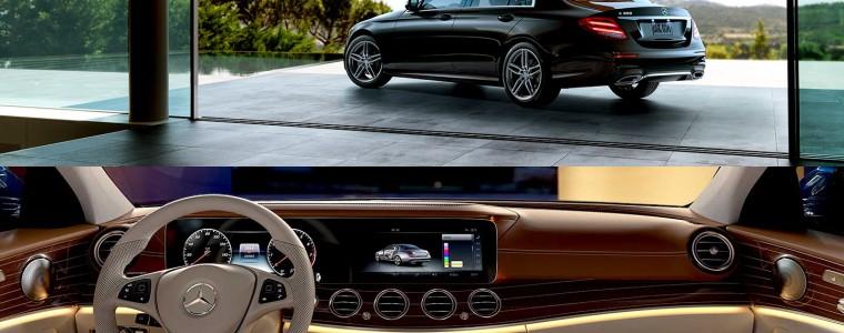 trải nghiệm Mercedes-Benz E-Class
