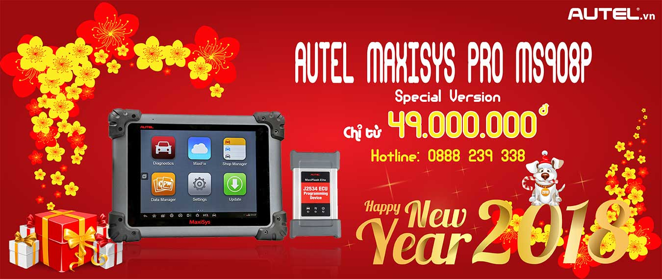 Autel MaxiSys MS906 Special Version