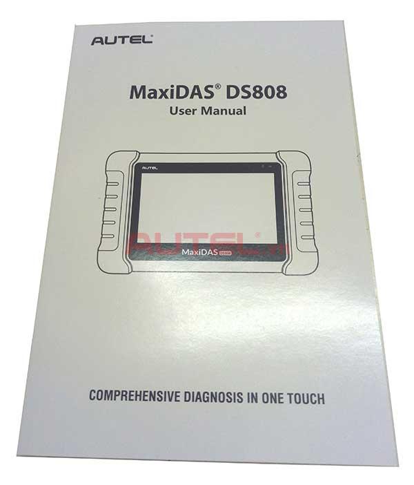 hướng dẫn sử dụng autel maxidas ds808