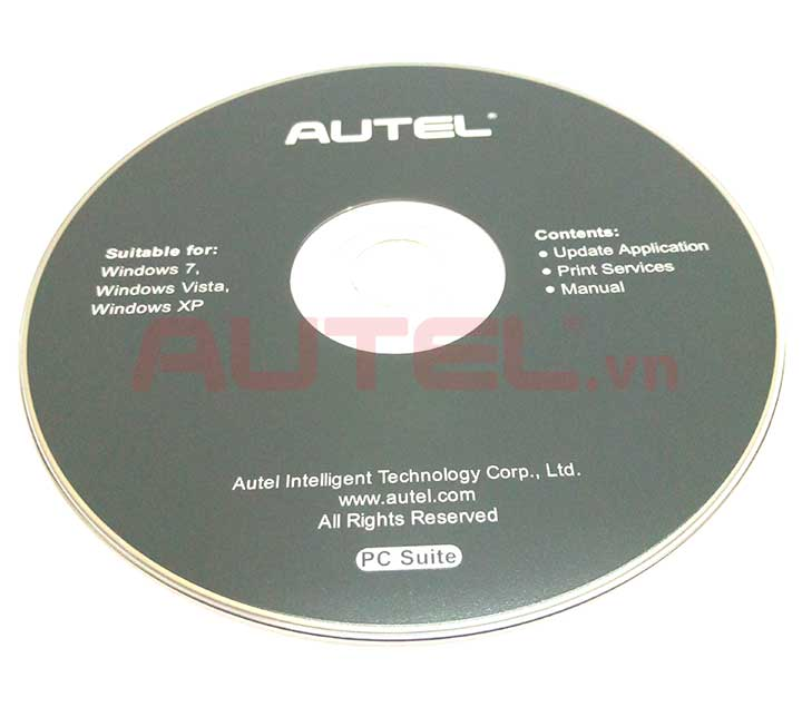 đĩa cd autel maxitpms ts508