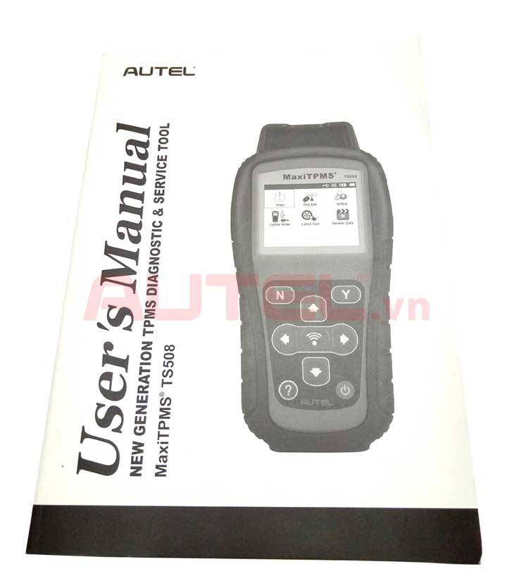 hướng dẫn sử dụng Autel MaxiTPMS TS508