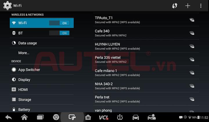 Tính năng máy đọc lỗi MaxiTPMS TS608