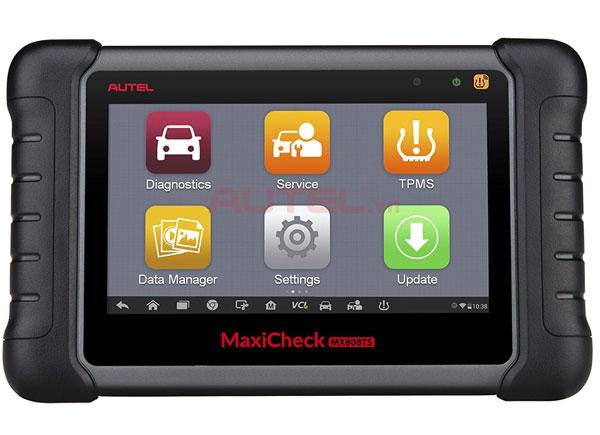 Màn hình chính Autel MaxiCheck MX808TS