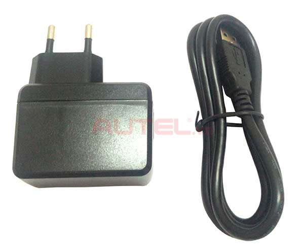 Cable USB Mini và củ sạc MaxiCheck MX808TS