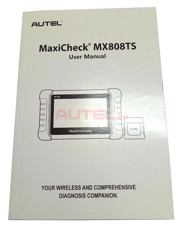 Hướng dẫn sử dụng MaxiCheck MX808TS
