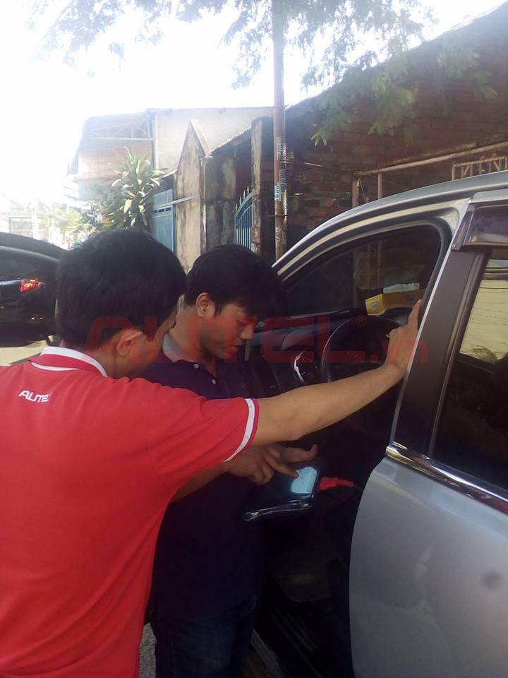 Bàn giao Autel MaxiSys MS906 garage anh Vĩnh tại Biên Hòa