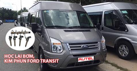 Hướng dẫn học lại bơm, kim phun xe Ford Transit