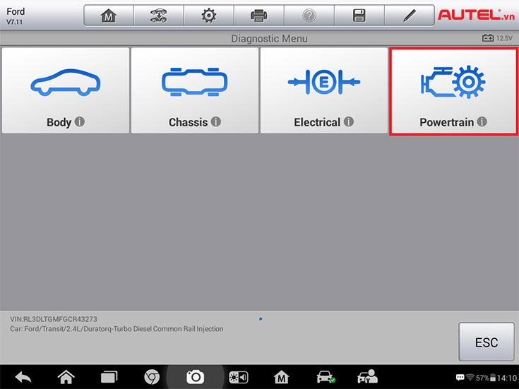 hướng dẫn học lại bơm béc xe ford transit