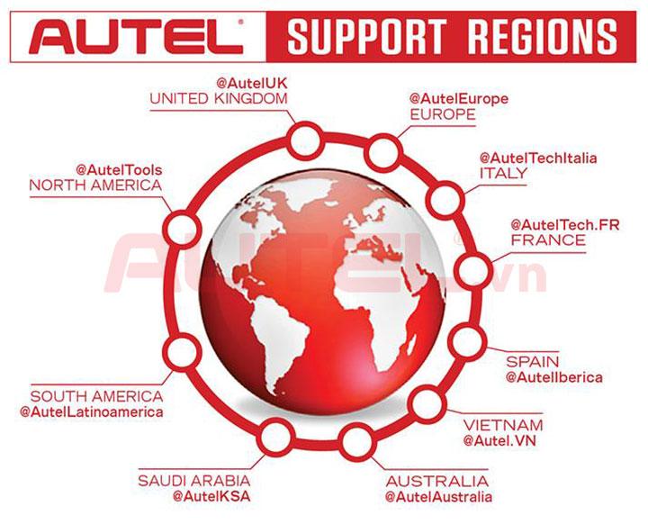 Đại lý Autel trên khắp thế giới