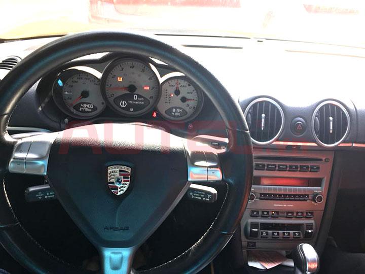 Cài đặt cảm biến áp suất lốp Porsche Cayman 2007