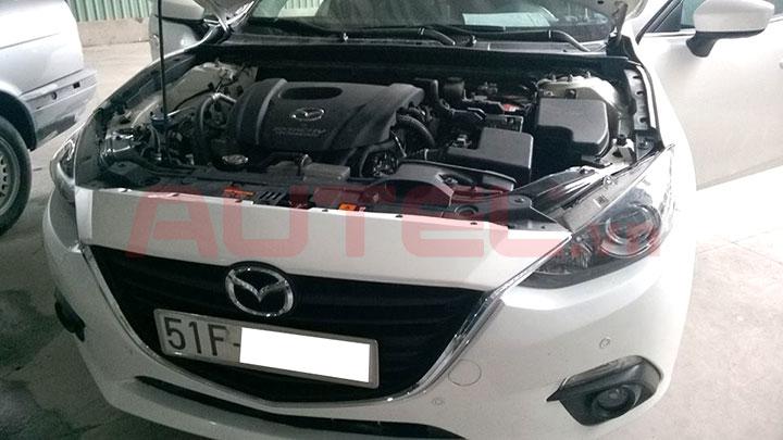 Lắp và cài đặt túi khí xe Mazda 3 2015