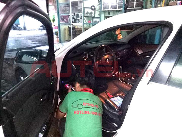 Bàn giao Autel MaxiSys MS906 gara Auto Đức Trí tại HCM