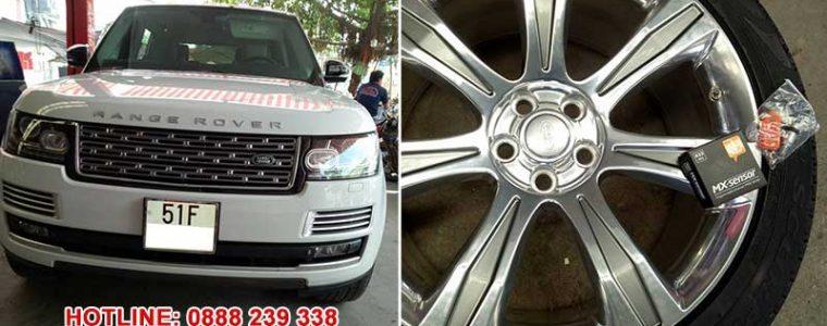 Cài đặt cảm biến áp suất lốp xe Range Rover L405 2014