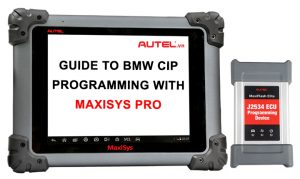 BMW CIP Programming with MaxiSys Pro