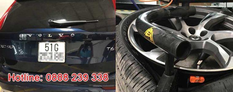 Lắp đặt cảm biến áp suất lốp Volvo XC90 2016