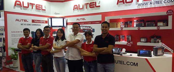 Mừng thành công của Autel tại triển lãmAutomechanika 2018