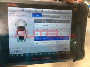 Cài đặt cảm biến áp suất lốp Lexus