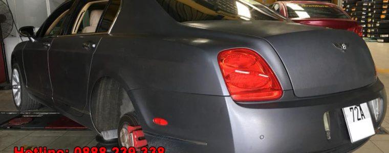 Autel TS608 cài đặt cảm biến áp suất lốp Bentley Continental 2006
