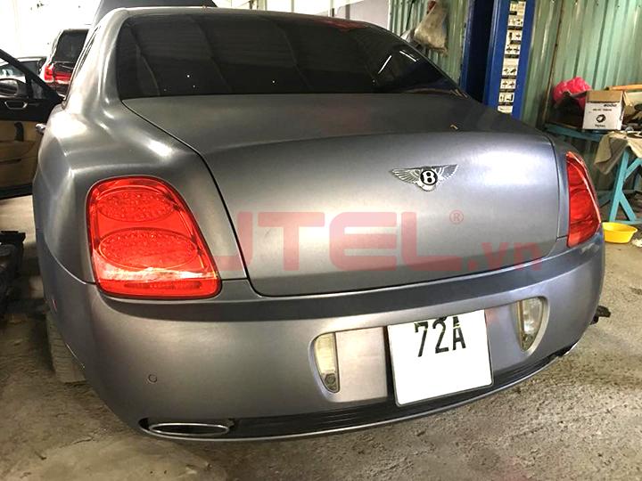 cài đặt cảm biến áp suất lốp Bentley Continental