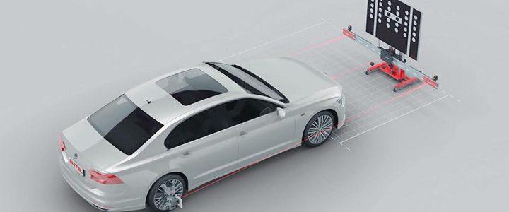 Thiết bị cân chỉnh hệ thống hỗ trợ lái xe nâng cao Autel MaxiSys ADAS