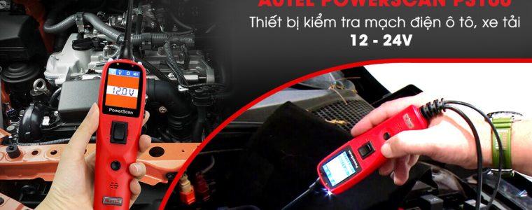 Thiết bị kiểm tra mạch điện ô tô, xe tải Autel PS100