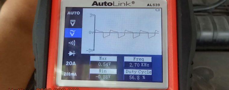 Giới thiệu chức năng đo xung trên thiết bị Autel Autolink AL539