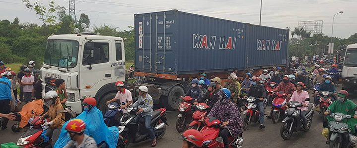 Xe container có dễ bị mất thắng?