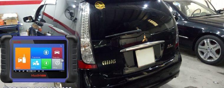 Cài chìa khóa Mitsubishi Grandis bằng thiết bị Autel MaxiIM IM508