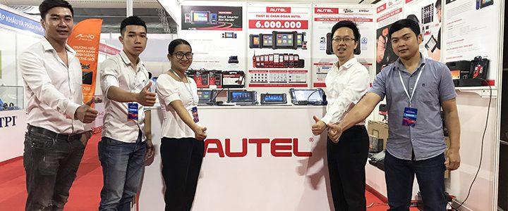 Toàn cảnh Autel tại triển lãm Vietnam Motor Show 2019