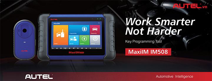 Máy cài chìa khóa Autel MaxiIM IM508