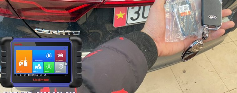 Video cài chìa khóa Kia Cerato 2019 với Autel IM508