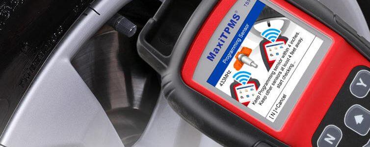 Thiết bị cài đặt cảm biến áp suất lốp ô tô Autel TS508