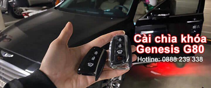 Làm chìa khóa xe Genesis G80